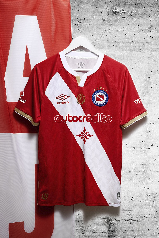 Camisas do Argentinos Juniors 2020-2021 Umbro