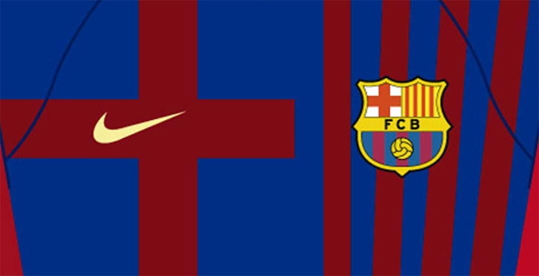 Camisas do Barcelona 2021-2022 Nike Titular a