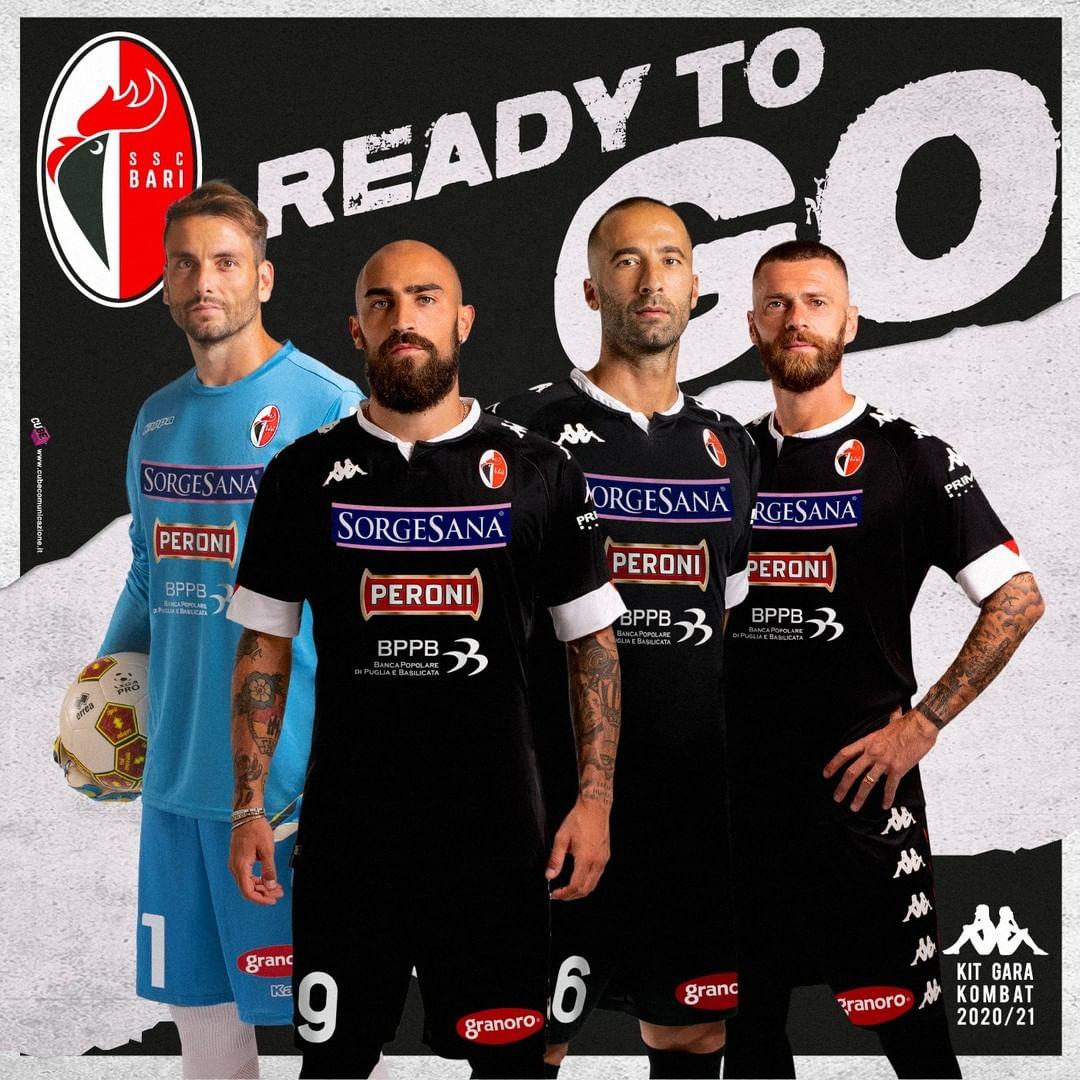 Camisas do Bari 2020-2021 Kappa
