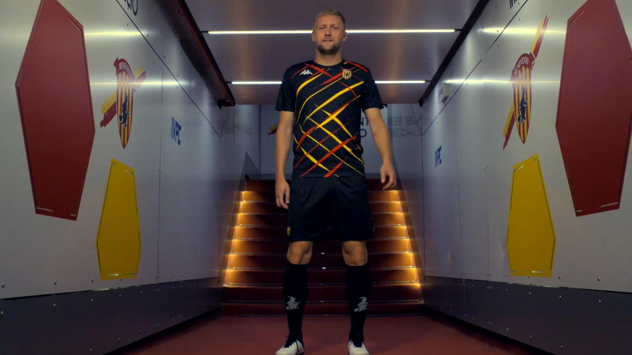 Camisas do Benevento Calcio 2020-2021 Kappa Fourth