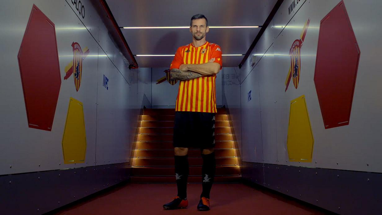 Camisas do Benevento Calcio 2020-2021 Kappa Home 1