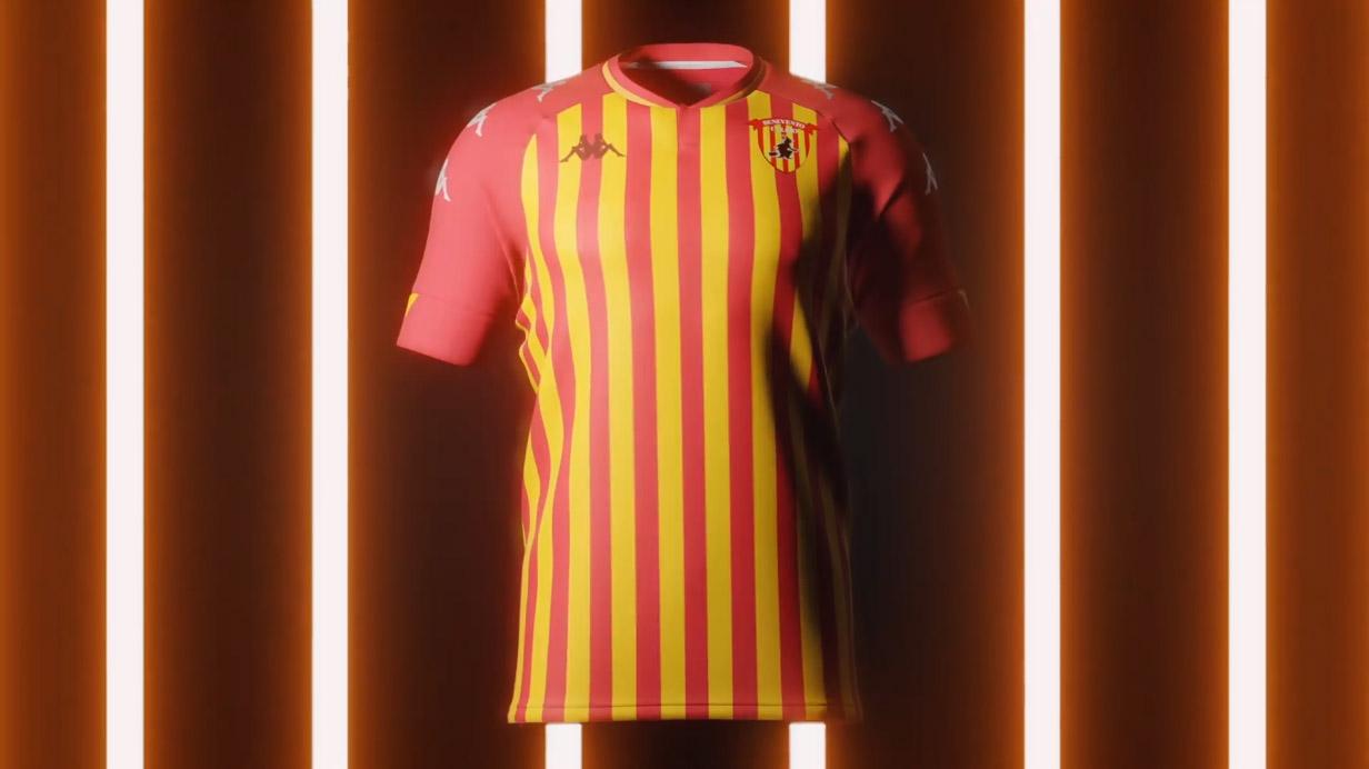Camisas do Benevento Calcio 2020-2021 Kappa Home