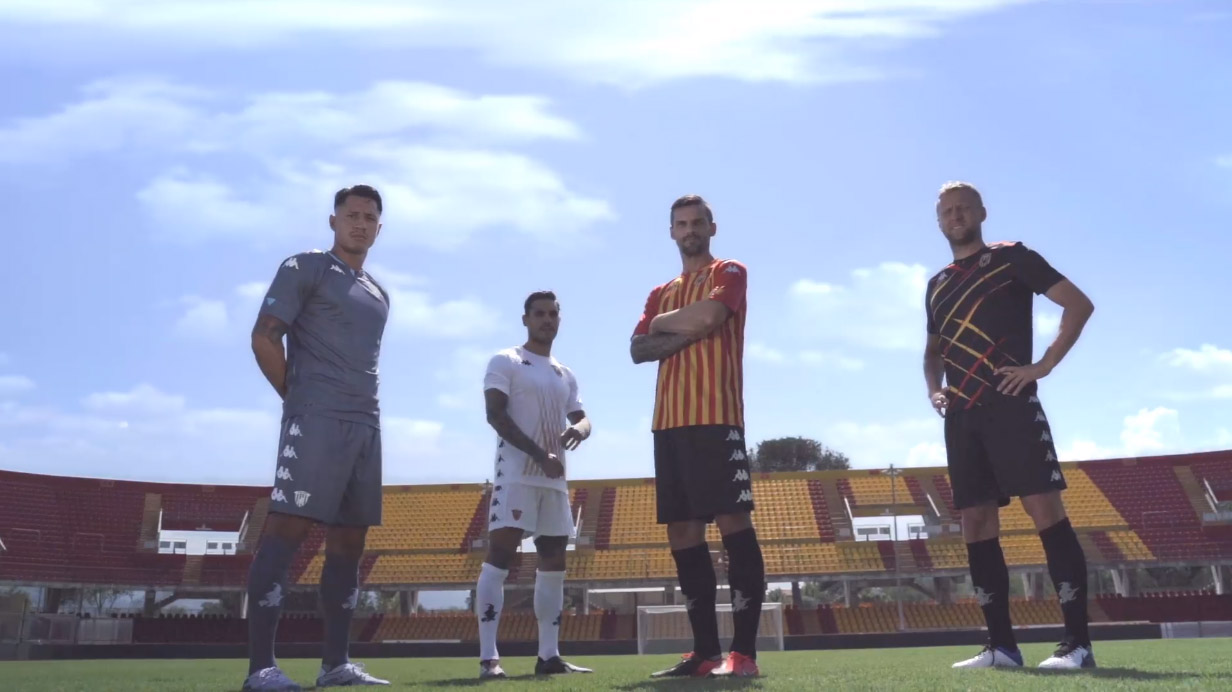 Camisas do Benevento Calcio 2020-2021 Kappa Third a