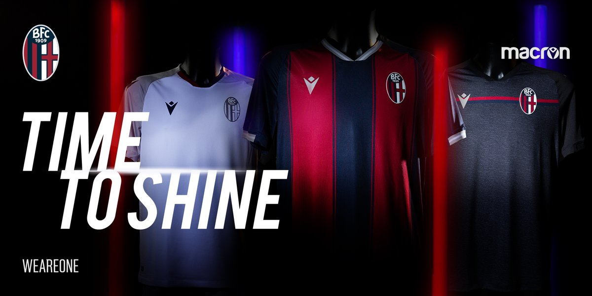 Camisas do Bologna 2020-2021 Macron
