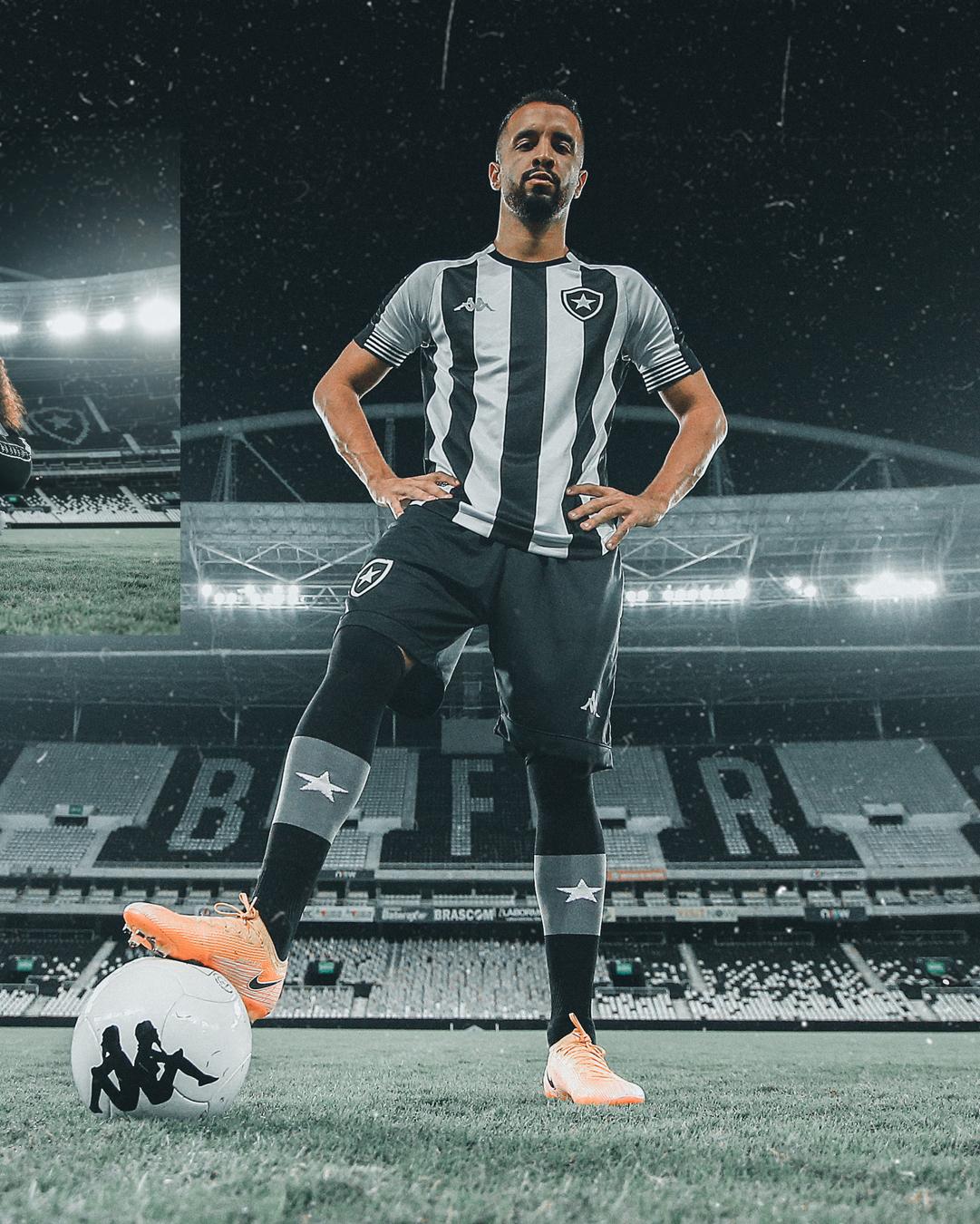 Camisas do Botafogo 2020-2021 Kappa