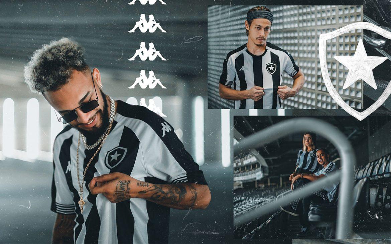 Camisas do Botafogo 2020-2021 Kappa a