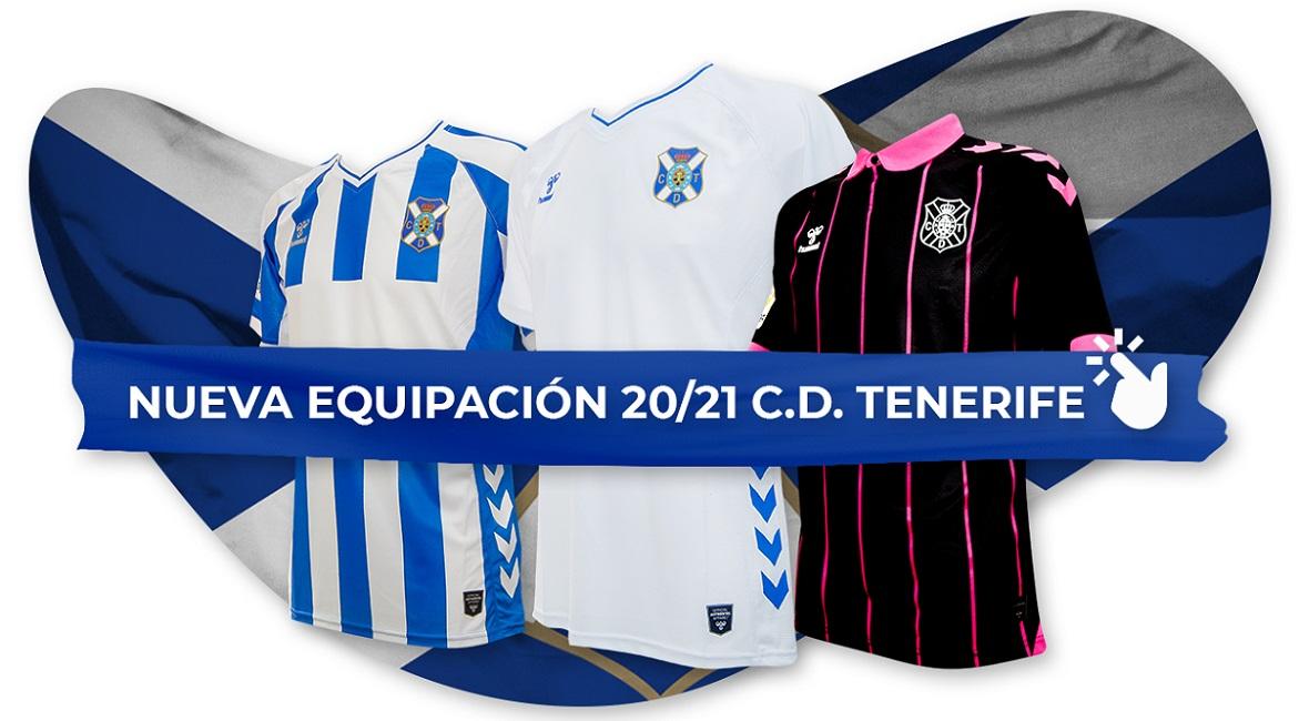 Camisas do CD Tenerife 2020-2021 Hummel
