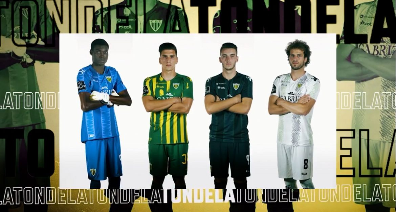 Camisas do CD Tondela 2020-2021 CDT