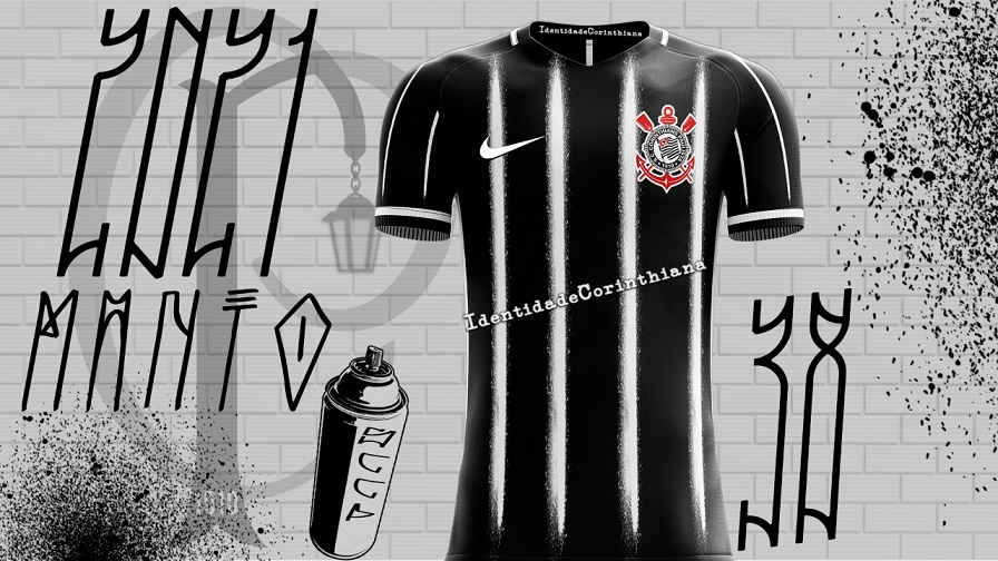 Camisas do Corinthians 2021-2022 Nike