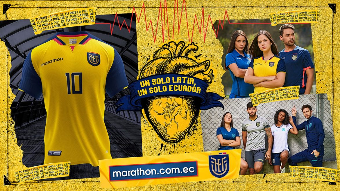 Camisas do Equador 2020-2021 Marathon