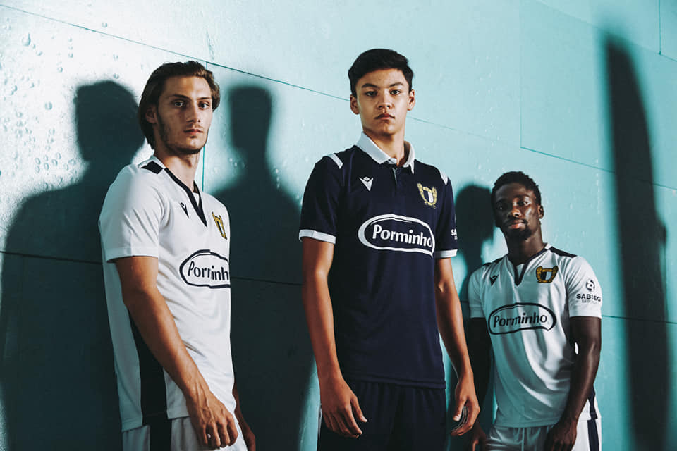 Camisas do FC Famalicão 2020-2021 Macron