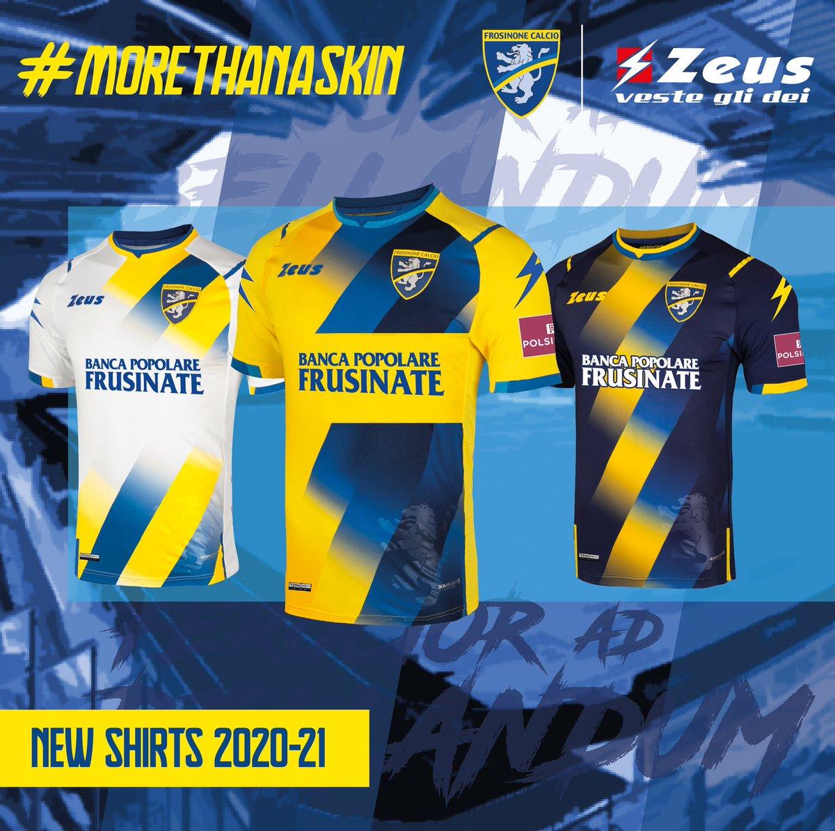 Camisas do Frosinone 2020-2021 Zeus