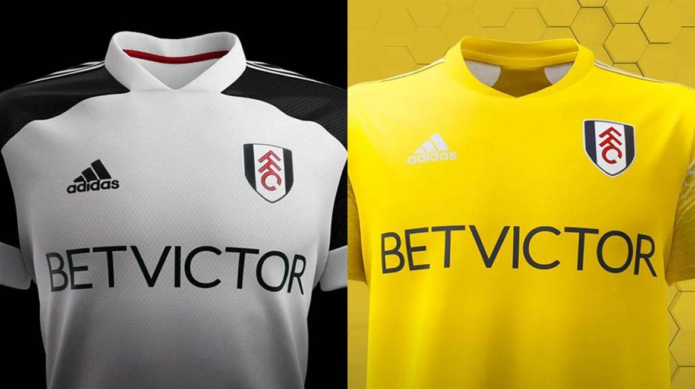 Camisas do Fulham 2020-2021 Adidas a