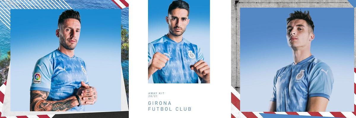 Camisas do Girona 2020-2021 PUMA