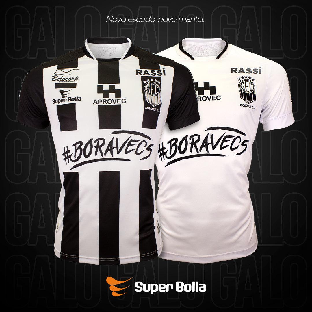 Camisas do Goiânia EC 2020-2021 Super Bolla
