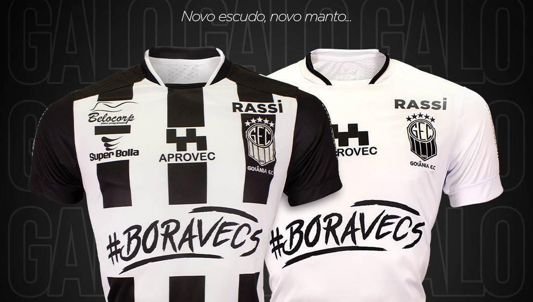 Camisas do Goiânia EC 2020-2021 Super Bolla a