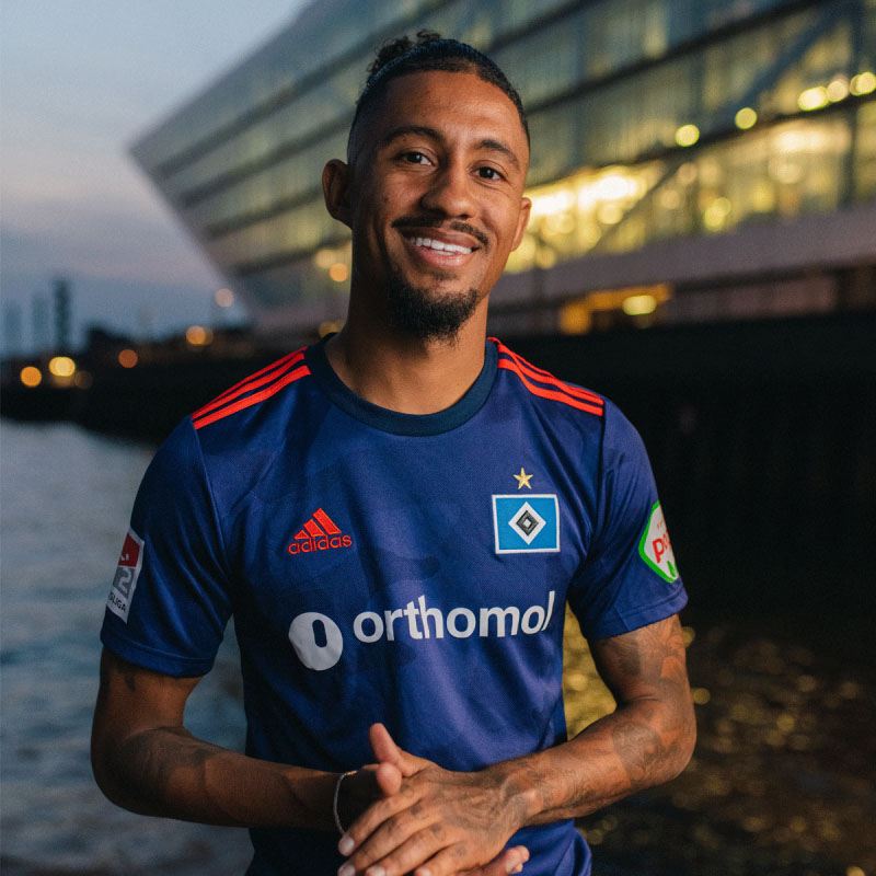 Camisas do Hamburgo SV 2020-2021 Adidas Reserva