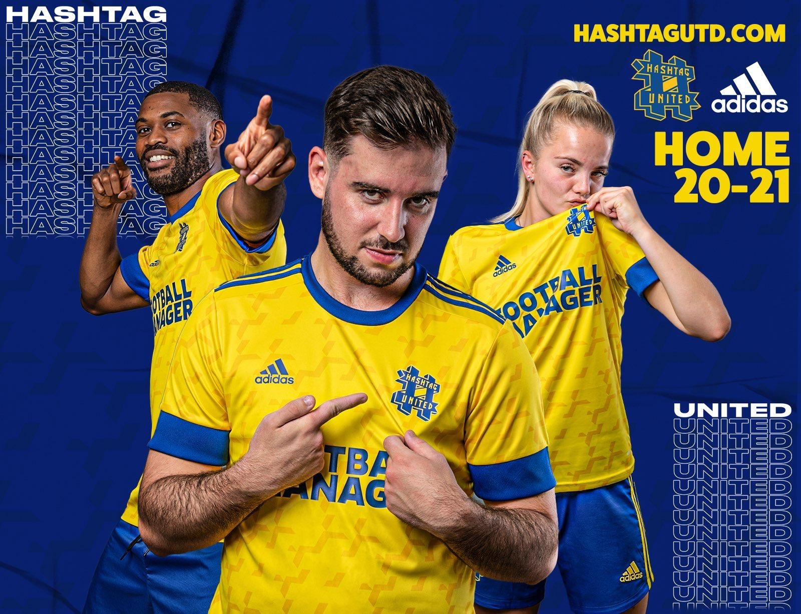 Camisas do Hashtag United 2020-2021 Adidas