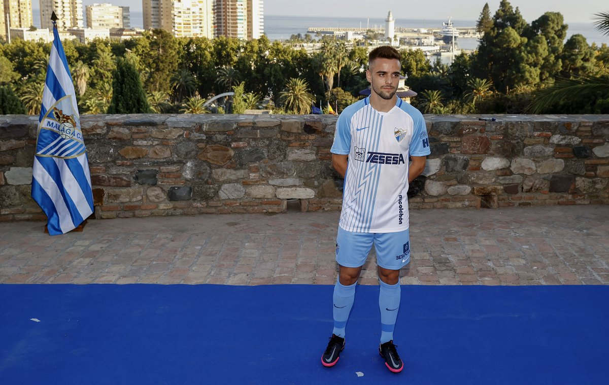Camisas do Málaga CF 2020-2021 Nike