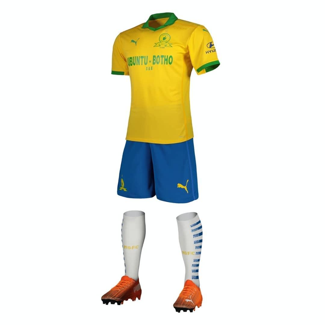 Camisas do Mamelodi Sundowns 2020-2021 PUMA