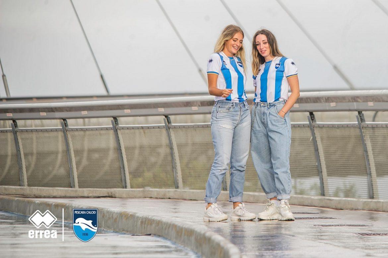 Camisas do Pescara Calcio 2020-2021 Erreà