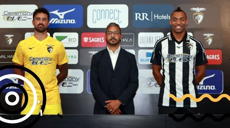 Camisas do Portimonense SC 2020-2021 Mizuno