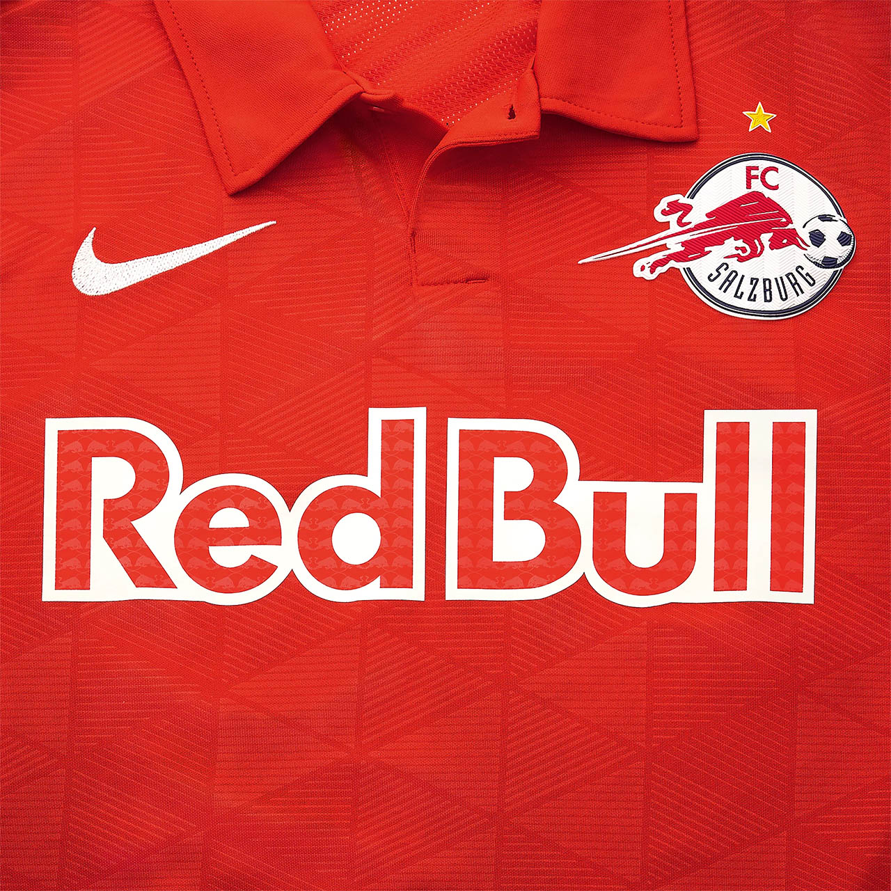 Camisas do FC Salzburg 2020-2021 Nike Champions League
