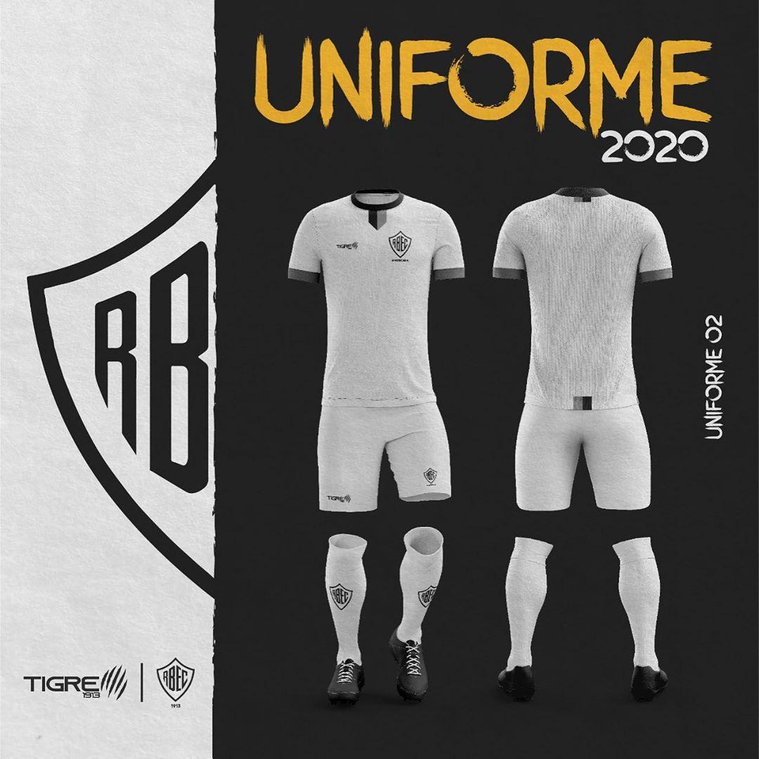 Camisas do Rio Branco EC 2020-2021 Tigre1913 Reserva