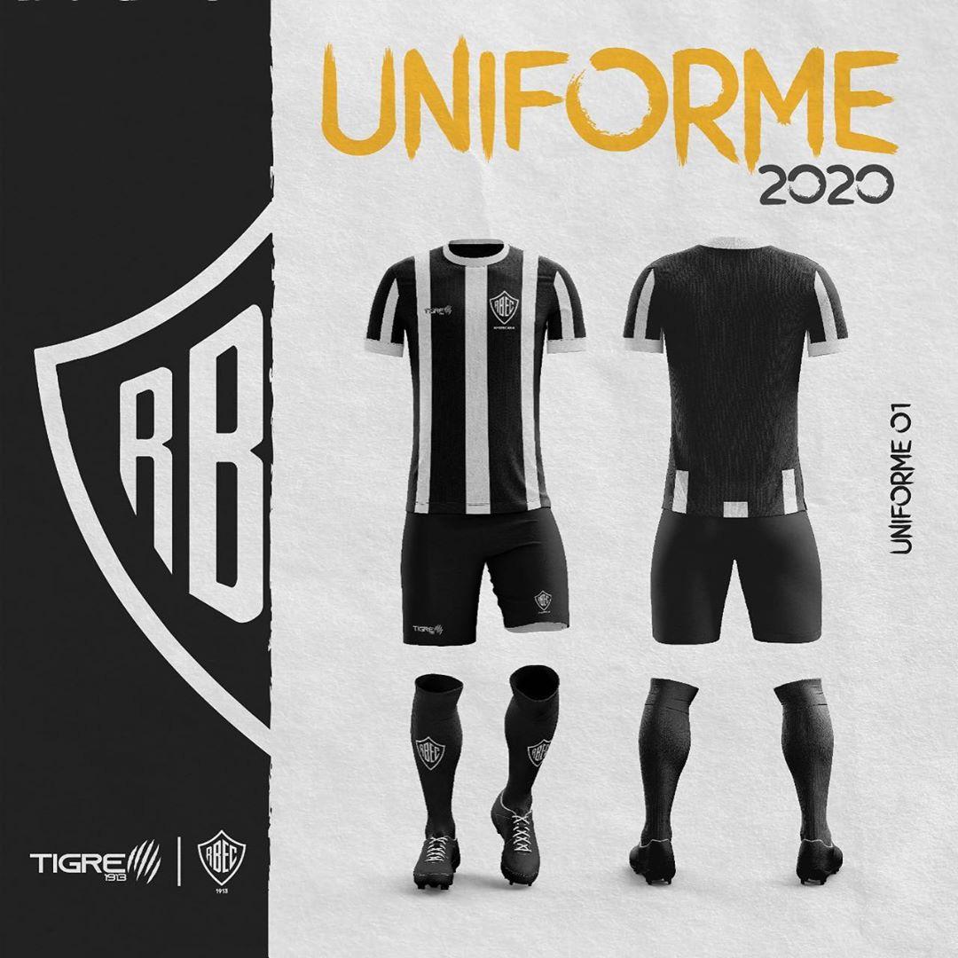 Camisas do Rio Branco EC 2020-2021 Tigre1913 Titular