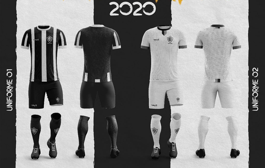 Camisas do Rio Branco EC 2020-2021 Tigre1913