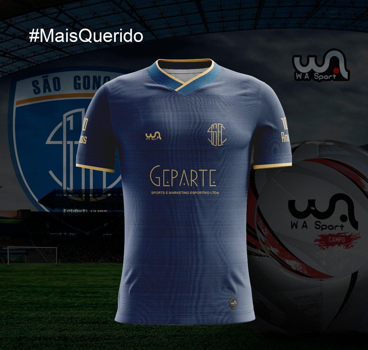 Camisas do São Gonçalo EC 2020-2021 WA Sport