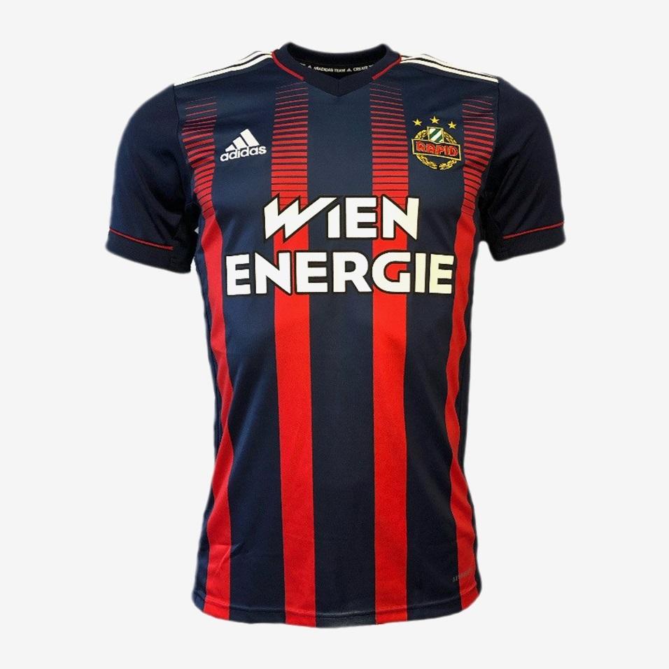 Camisas do SK Rapid Viena 2020-2021 Adidas