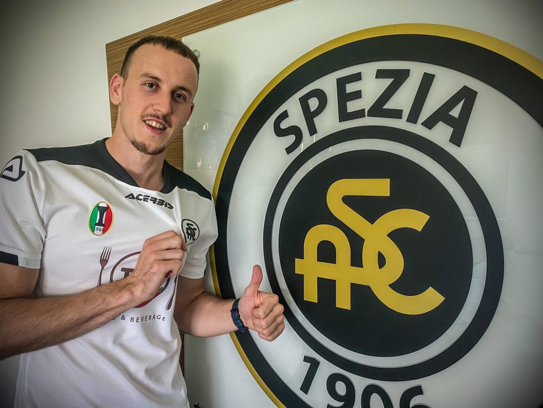 Camisas do Spezia Calcio 2020-2021 Acerbis