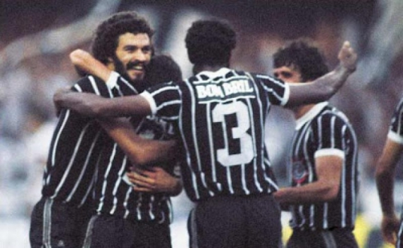 Corinthians camisa Bombril 1982