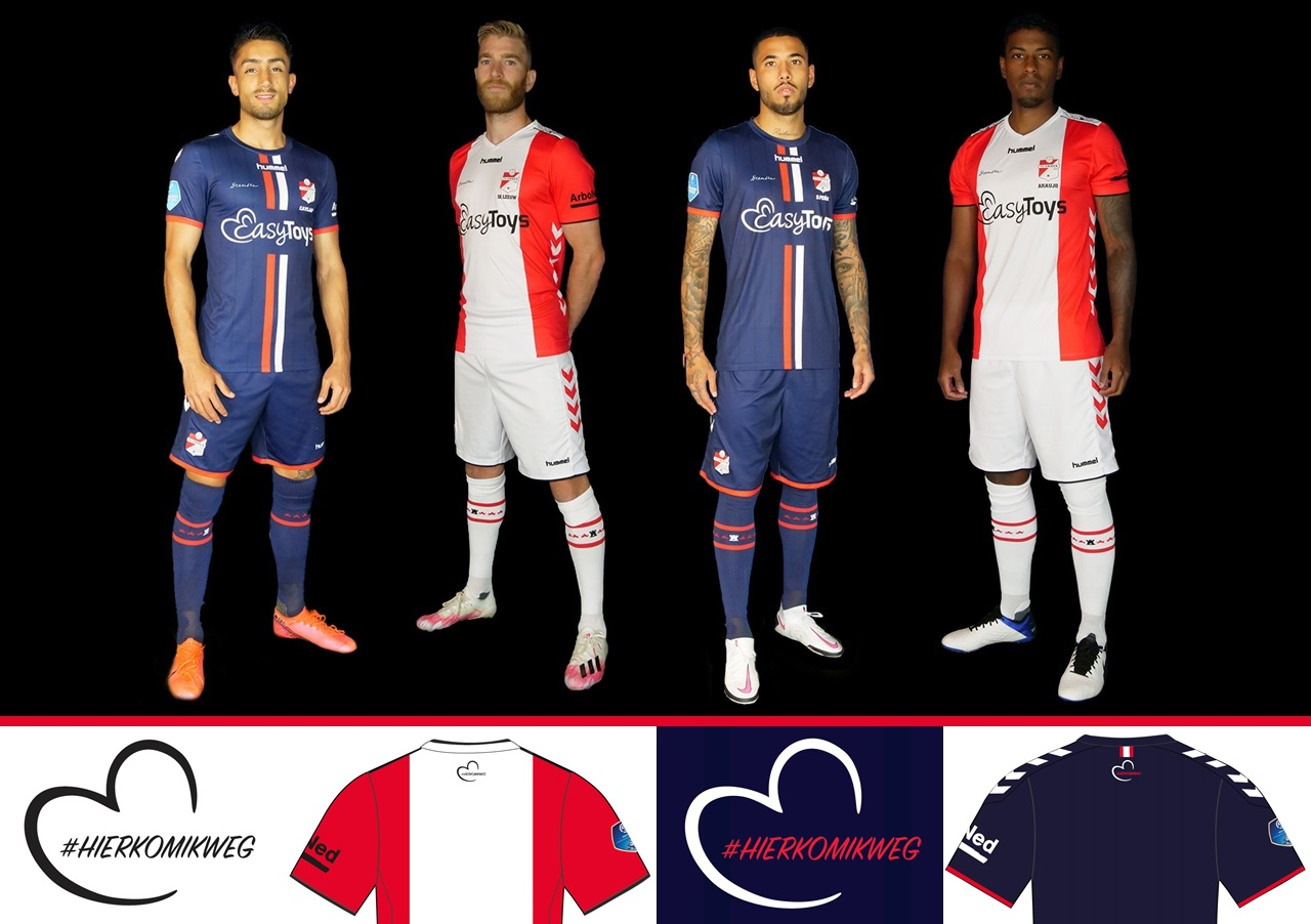 FC Emmen inicia venda de camisas com patrocinador proibido