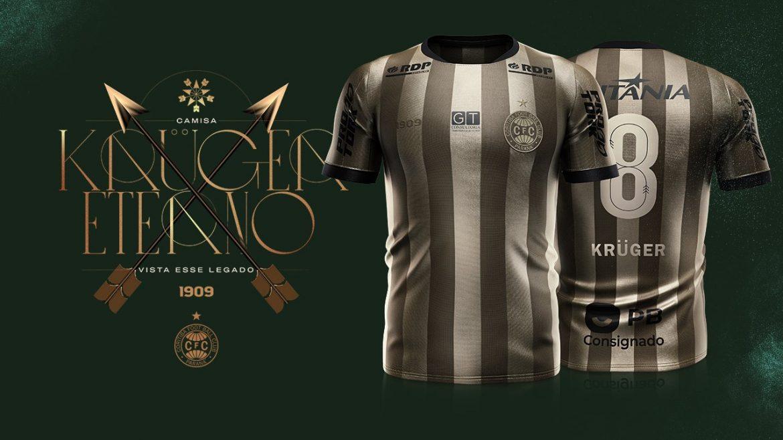 Krüger Eterno Terceira camisa do Coritiba 2020-2021 1909