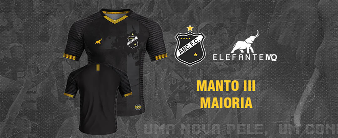 Maioria Terceira camisa do ABC FC 2020-2021 ElefanteMQ