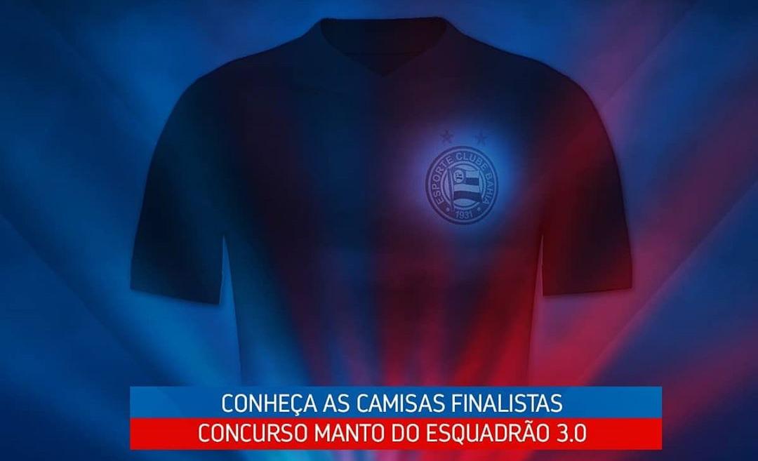 Manto do Esquadrão 3.0: EC Bahia revela finalistas de camisas para 2021