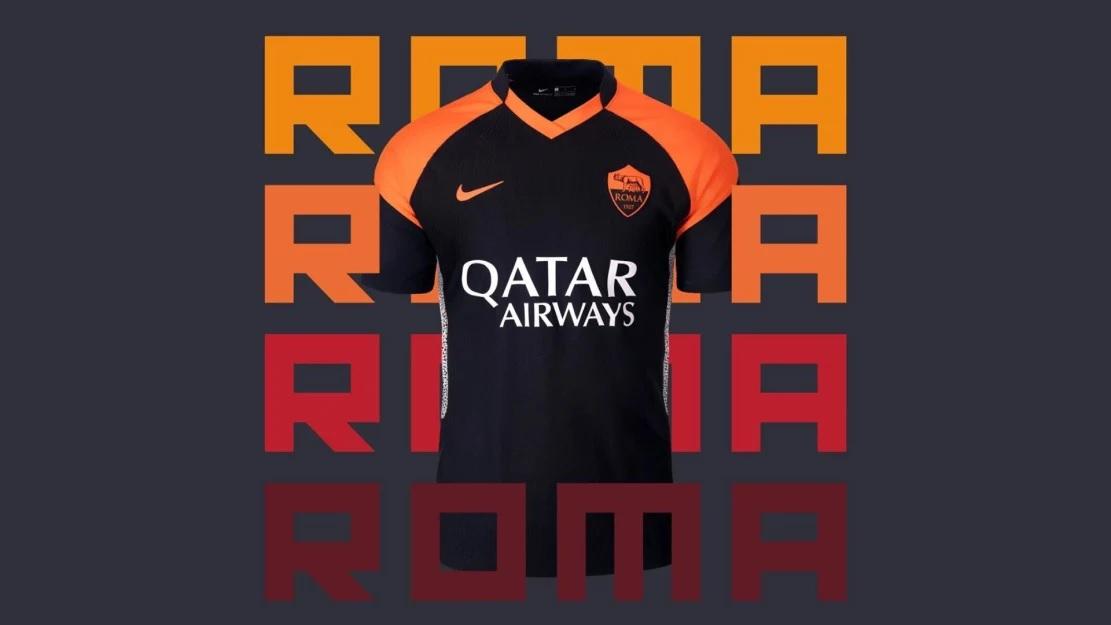 Terceira camisa da AS Roma 2020-2021 Nike
