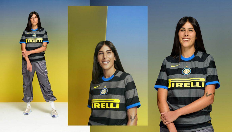 Terceira camisa da Inter de Milão 2020-2021 Nike