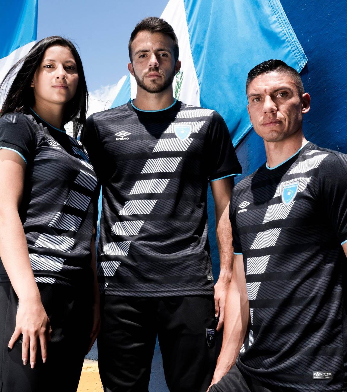 Terceira camisa da Seleção da Guatemala 2020-2021 Umbro