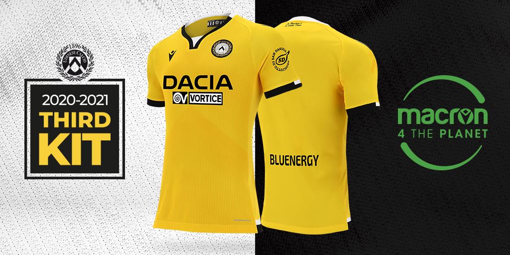 Terceira camisa da Udinese 2020-2021 Macron a