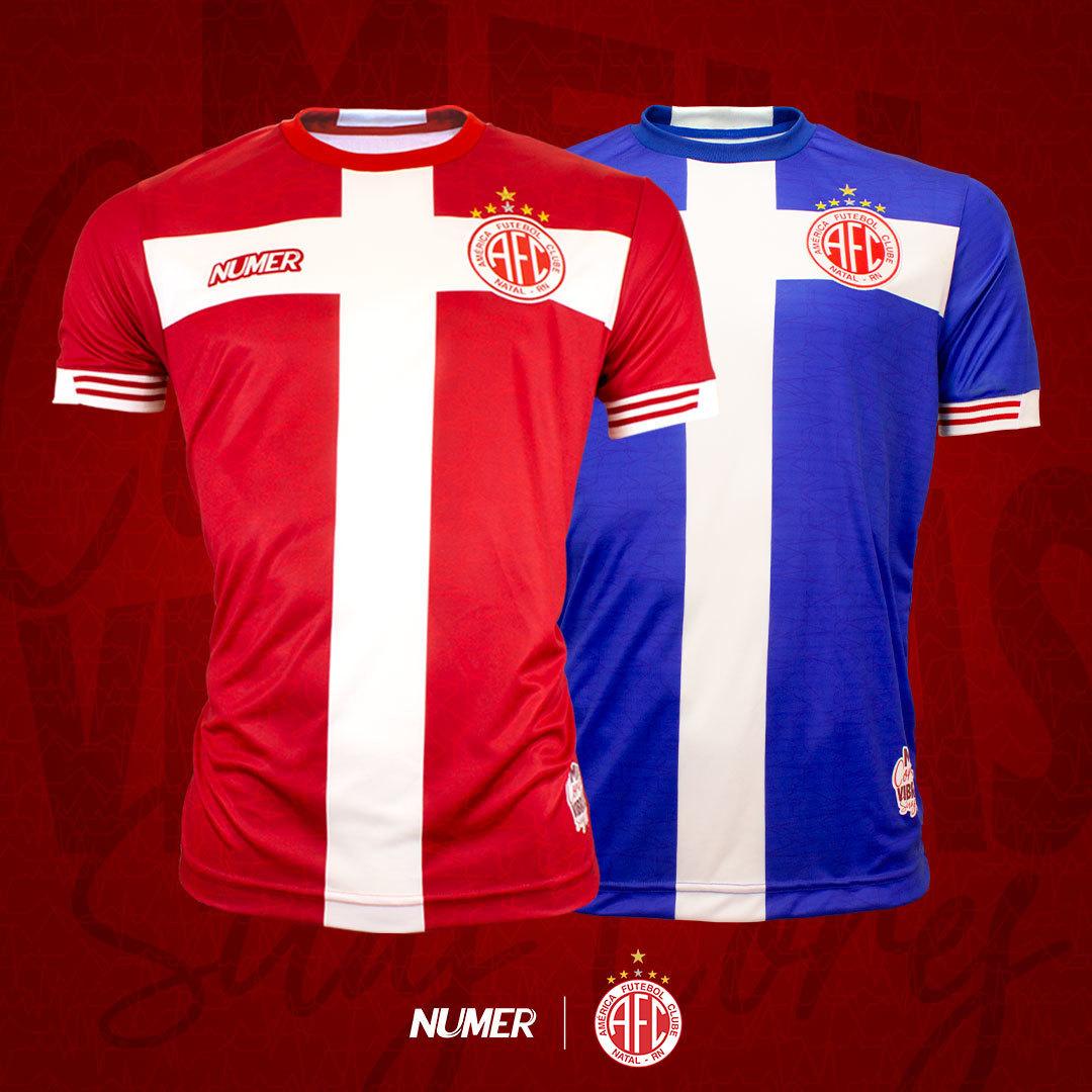 Terceira camisa do América 2020-2021 Numer