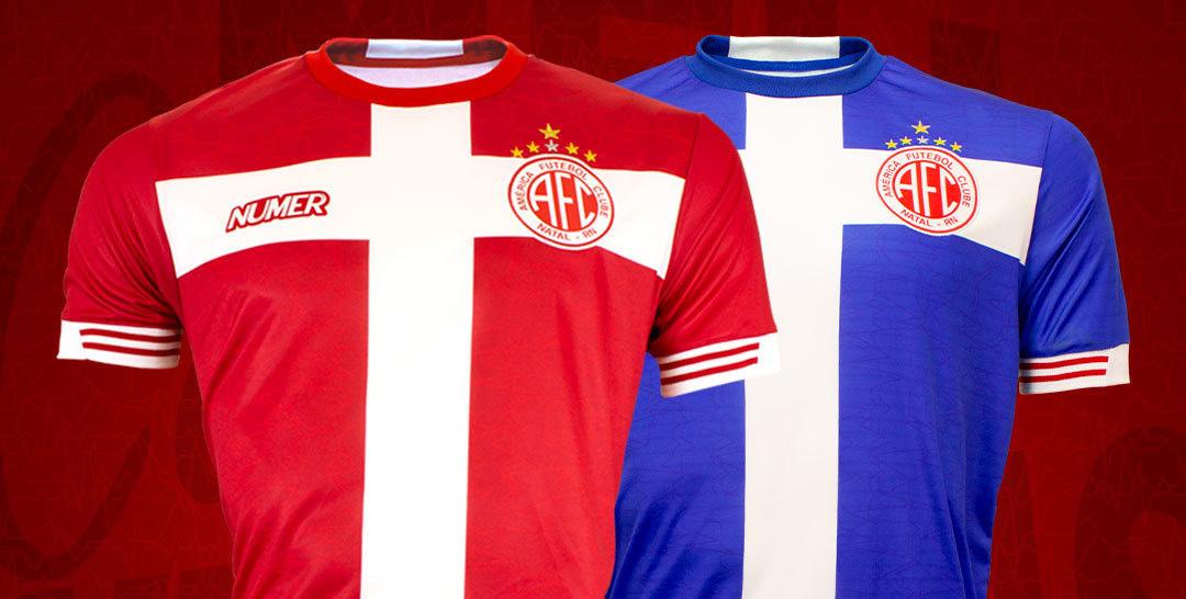 Terceira camisa do América 2020-2021 Numer a