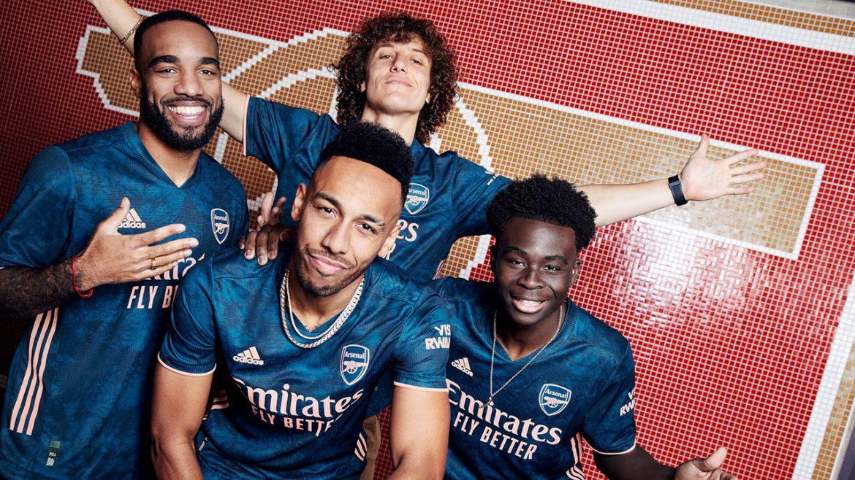 Terceira camisa do Arsenal 2020-2021 Adidas a