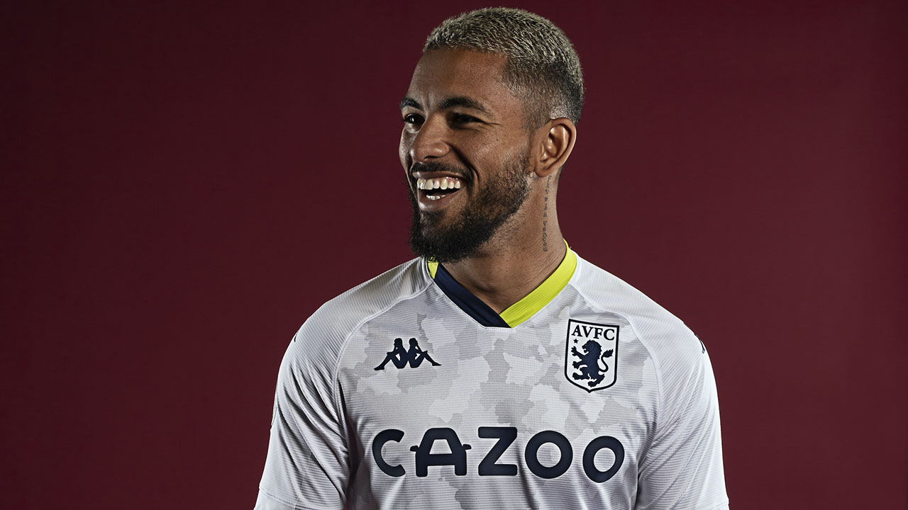 Terceira camisa do Aston Villa 2020-2021 Kappa