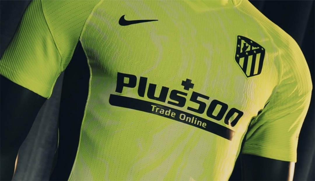 Terceira camisa do Atlético de Madrid 2020-2021 Nike a