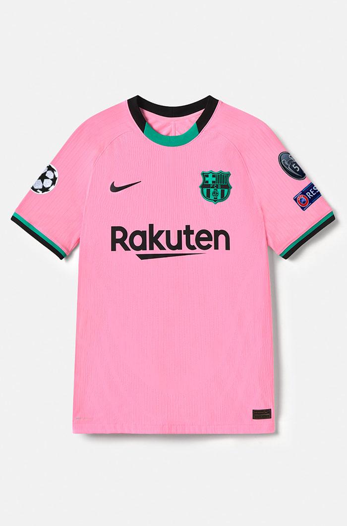 Terceira camisa do Barcelona 2020-2021 Nike