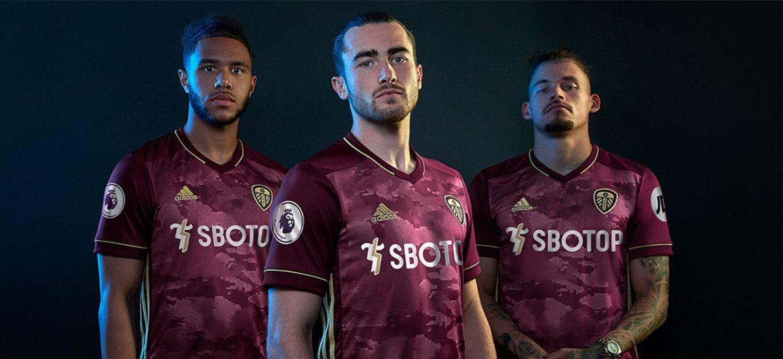 Terceira camisa do Leeds United 2020-2021 Adidas