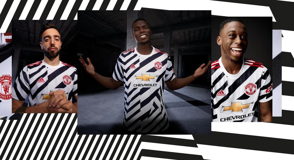 Terceira camisa do Manchester United 2020-2021 Adidas